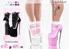 *CK* Babydoll heels