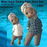 Miss Ing's Dinkie Fish Shirt Set