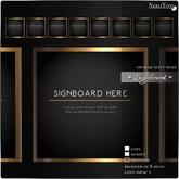 NekoToys - SIGNBOARD HERE 8P 1LI