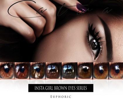 .euphoric ~ Insta Girls Brown Eyes Series ~[Catwa]