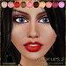 .:Glamorize:. Flash Lips Makeup Tattoos 2 10 Colors