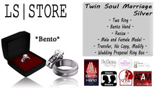 LS - Twin Soul Marriage - Silver **BENTO**