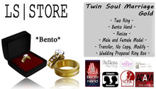 LS - Twin Soul Marriage - Gold **BENTO**