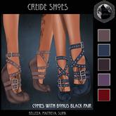 Creide Shoes (JR Wolf Creations)
