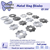 Metal Ring blades with Sculpt maps