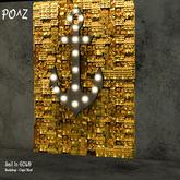 Po^Z Backdrop - Sail in Gold
