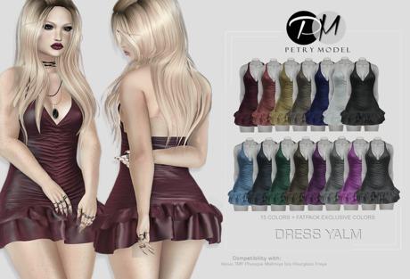 Second Life Marketplace Dress Yalm