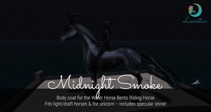 Lunistice: Midnight Smoke - Water Horse Body Coat