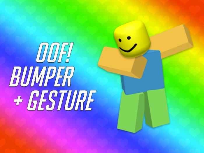 Oofjpg Roblox Second Life Marketplace Roblox Oof Bumper Gesture