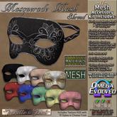 ~JJ~ Masquerade Mask ~ Shroud