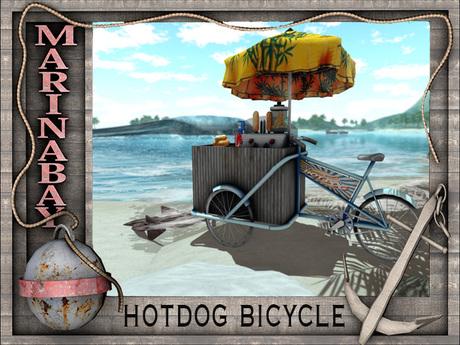 hotdog bicycle