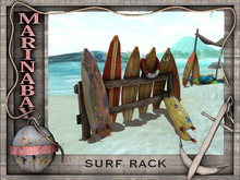 vintage surf rack