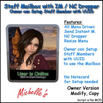 Staff Mailbox (Owner-Copy)