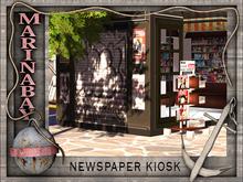 newspaper kiosk 4 prim