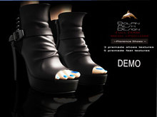 [Dolphin Design Mesh]Florence-Shoes  demo