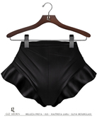GIZ SEORN - Frilly Hotpants [Black]