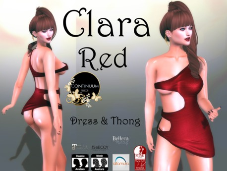 Continuum Clara Red Dress- SPECIAL OFFER
