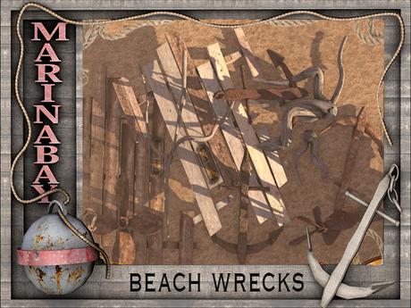 beach wrecks