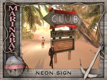 neon sign club
