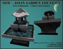 SSM - Asian Garden Fountain