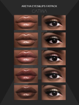 S.E CATWA ARETHA MAKEUP COLLECTION