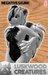 Luskwood Negative Skunk Furry Avatar - Female