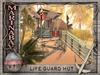 life guard hut