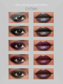 S.E CATWA SPELL ON YOU EYES&LIPS FATPACK MAKEUP APPLY