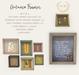 {what next} Autumn Frames (three piece set)