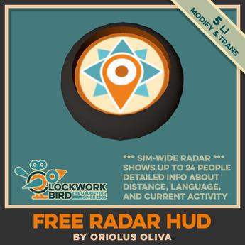 [OO][BOX] Clockwork Bird FREE Radar HUD