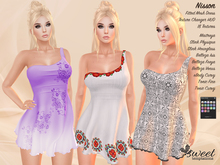 Sweet Temptations :: Nisson Dress - Maitreya, Slink, Belleza, Tonic, eBody. 18 Textures HUD.