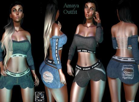 Lotus -Amaya Outfit