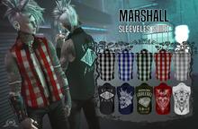 Nana - Marshall Black Grid Sleeveless Shirt {wear me}