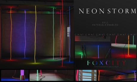 FOXCITY. Photo Booth - Neon Storm