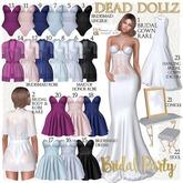 3. Dead Dollz - Bridal Party - Black Body