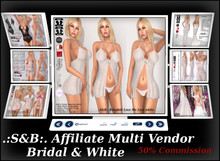 .:S&B:. Affiliate Multi Vendor Bridal & Whites
