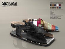 Massai :: Male Sandals :: 10 Colors :: {kokoia}