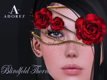 AdoreZ-Ponny Blindfold Thorns