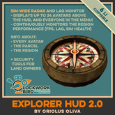 ***NEW!*** [OO] Explorer HUD - sim-wide radar and many more!
