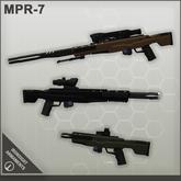 Ironsight Armaments - MPR-7 Pulse Rifle