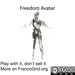 *CM* Freedom Avatar boxed