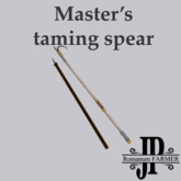 Master's taming spear [G&S]