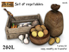 Set of vegetables v3 - Old World - Rustic Garden
