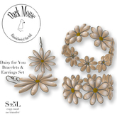 Dark Mouse A Daisy for you Bangles