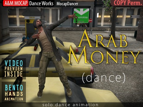 A&M: Arab Money - Busta Rhymes dance (BENTO hands) - 3 animation :: #TAGS - rap, rapper, urban, street, krump