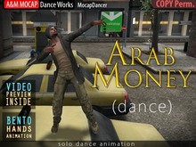 A&M: Arab Money - Busta Rhymes dance (BENTO hands) - 3 animation :: #TAGS - rap, rapper, urban, street, krump