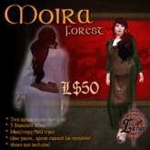 {L} Moira Apron dress (Forest)