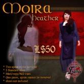 {L} Moira Apron dress (Heather)