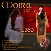 {L} Moira Apron dress (Ochre)