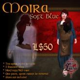 {L} Moira Apron dress (SoftBlue)